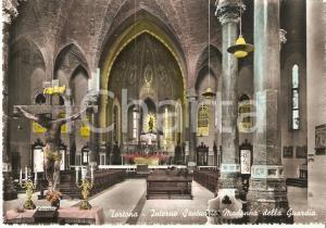 1960 ca TORTONA (AL) Interno Santuario Madonna della Guardia *Cartolina FG NV