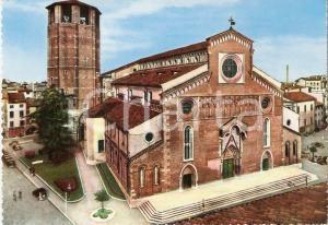 1965 ca UDINE Cattedrale di Santa Maria Annunziata Cartolina animata FG NV