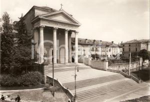 1955 ca UDINE Basilica Beata Vergine delle Grazie - Facciata *Cartolina FG NV