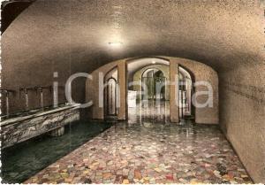 1970 ca CARAVAGGIO (BG) Fontana miracolosa del Santuario *Cartolina FG VG