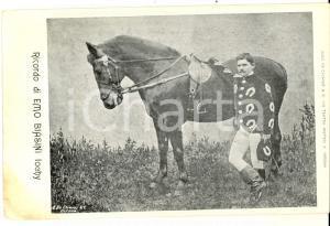 1910 ca CIRCO Ricordo di EMO BIASINI con IOCHY *Cartolina RARA ed. DE CHIAVES
