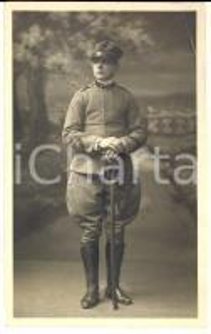 1924 REGIO ESERCITO MILANO Ufficiale di artiglieria con la sciabola *Foto ANGELI