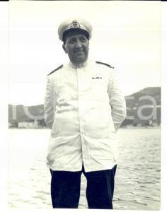 1950 ca MARINA MILITARE Ritratto di un ufficiale *Fotografia 13x16 cm