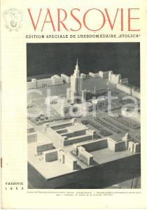 1953 VARSOVIE Ville de la Paix - Edition spéciale de STOLICA 16 pp. ILLUSTRE'