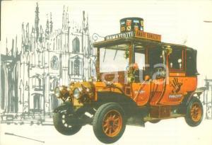 1955 ca MILANO AMARO RAMAZZOTTI Automobile Carolina *Cartolina pubblicitaria
