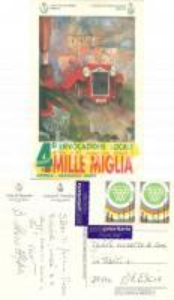 2002 BRESCIA 4° Rievocazione locale Edizione Storica MILLE MIGLIA *Cartolina FG