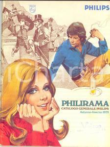 1973 PHILIPS PHILIRAMA Catalogo generale prodotti per la casa ILLUSTRATO