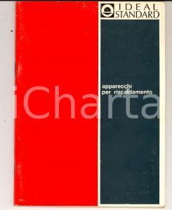 1967 MILANO IDEAL STANDARD Apparecchi per riscaldamento *Catalogo ILLUSTRATO