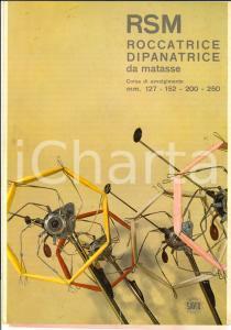 1967 PORDENONE Officine SAVIO RSM Roccatrice dipanatrice matasse *Pubblicitario