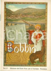 1956 BOBBIO (PC) Ente Provinciale per il Turismo *Opuscolo ILLUSTRATO