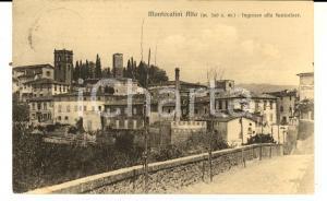 1924 MONTECATINI ALTO Ingresso alla Funicolare *Cartolina a suor Vincenzina BOY