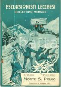 1915 ESCURSIONISTI LECCHESI La nostra festa degli Alberi *Rivista