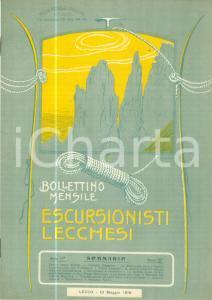 1916 ESCURSIONISTI LECCHESI Lamontagna nella poesia carducciana *Rivista