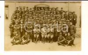 1910 ca REGIO ESERCITO Battaglione di artiglieria davanti alla sala rancio *Foto