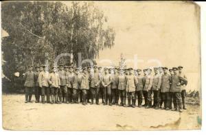1918 WWI SAN MARTINO DEL CARSO Gruppo di militari austriaci *Foto cartolina
