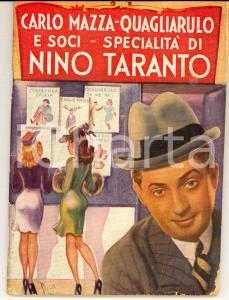 1943 Carlo MAZZA - QUAGLIARULO & Soci Specialità di Nino TARANTO 58 pp.