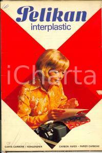 1970 ca MILANO Ditta PELIKAN - Confezione carta carbone 100 fogli