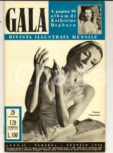 1953 GALA Fosco MARAINI nel TIBET *Rivista ILLUSTRATA anno II n° 1