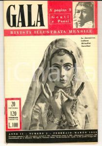 1953 GALA Il balletto americano - Rita HAYWORTH *Rivista ILLUSTRATA anno II n° 2