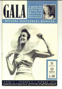 1953 GALA Il balletto moderno - Elizabeth TAYLOR *Rivista ILLUSTRATA anno II n°5