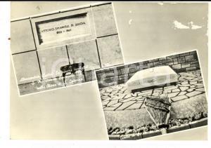 1960 ca CASA SAVOIA Cartolina tombe Vittorio Emanuele III e regina Elena FG NV