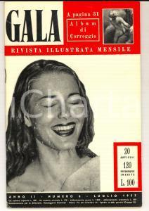 1953 GALA Le porte di Roma - Greer GARSON *Rivista ILLUSTRATA anno II n° 6