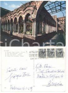 1959 PALERMO S. Giovanni Eremiti - Cartolina Giorgio OBERWEGER a Sandro CALVESI