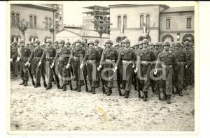 1968 BOLOGNA Cerimonia militare alla Caserma MAMELI *Fotografia 16x10 cm