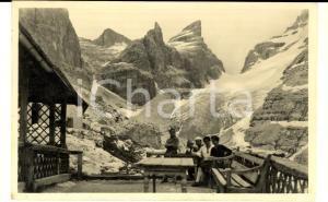 1931 DOLOMITI Rifugio Q. SELLA *Cartolina a Cristina GALLI DELLA LOGGIA FP