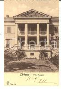 1916 ALBANO LAZIALE Villa FERRAIOLI *Cartolina a Cristina GALLI DELLA LOGGIA