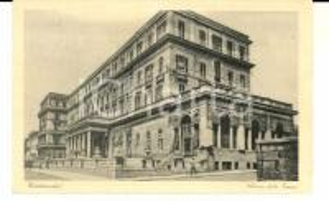 1934 CIVITAVECCHIA Albergo delle Terme *Cartolina a Cristina GALLI DELLA LOGGIA
