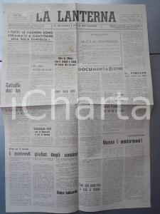 1946 LA LANTERNA Il Papa ha voluto la guerra? *Giornale cattolico anno II n° 30