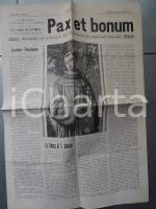 1929 BOLOGNA PAX ET BONUM La chiesa di S. ANTONIO - 75° anniversario Immacolata