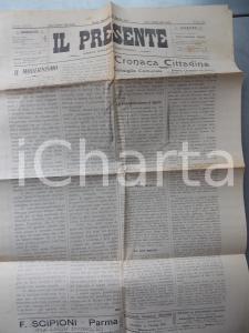 1911 PARMA IL PRESENTE Riapertura seminario Perugia *Bisettimanale democratico