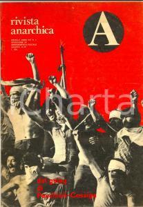 1978 A - RIVISTA ANARCHICA Le supercarceri di Pecchioli - Cossiga *Anno VIII n°2