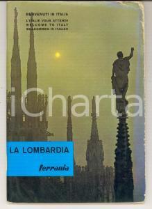 1964 TURISMO LOMBARDIA Guida per il turista fotografo ILLUSTRATA FERRANIA 50 pp.