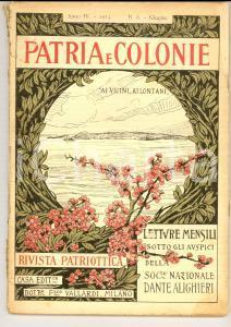 1915 PATRIA E COLONIE La Croce Rossa al campo *Rivista patriottica anno IV n° 6