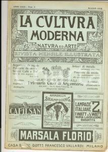 1922 LA CULTURA MODERNA Settecentenario dell'Università di Padova *Rivista