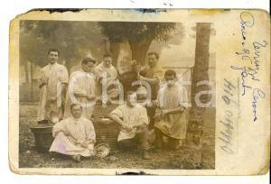 1914 REGIO ESERCITO Cesare TERRUZZI 96° Fanteria di corvée *Foto DANNEGGIATA