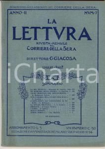 1902 LA LETTURA Arte nuova all'Esposizione di TORINO *ILLUSTRATA Anno II n°7