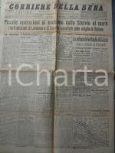 1915 WW1 CORRIERE DELLA SERA Avanzata italiana a LAVARONE e FOLGARIA *Giornale