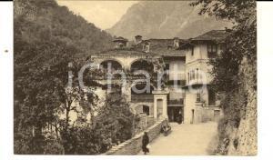 1930 PRADLEVES (CN) Veduta del Grande Albergo del Castello *Cartolina ANIMATA