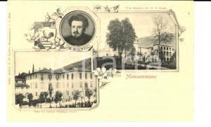 1900 ca MONSUMMANO TERME (PT) Vedutine casa Giuseppe GIUSTI *Cartolina FP NV