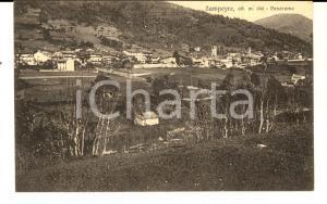1932 SAMPEYRE (CN) Veduta panoramica del paese *Cartolina FP VG