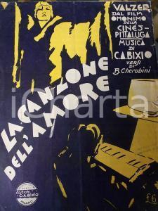 1930 CHERUBINI - BIXIO La canzone dell'amore - Valzer dal film *Spartito