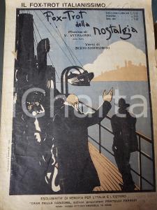 1923 CHERUBINI - BIXIO - VITALIANI Fox-trot della nostalgia *Spartito FRANCHI