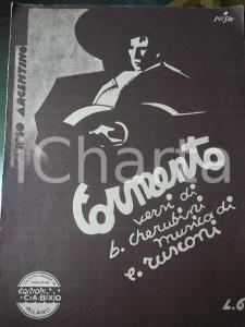 1932 CHERUBINI - RUSCONI Tormento - Tango argentino *Spartito ed. C. A. BIXIO