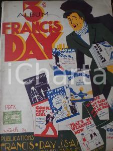 1927 5° Album FRANCIS DAY per piano - 20 spartiti *DANNEGGIATO 44 pp.