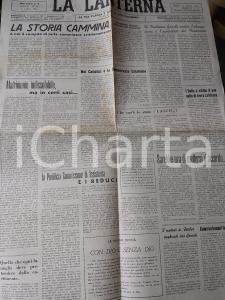 1946 LA LANTERNA Pontificia Commissione di Assistenza pro Reduci *Anno II n° 28