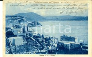 1930 NAPOLI BAIA La rada *Cartolina a Laura VITALE GAY dal cognato Goffredo